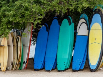 how to choose a surfboard size for beginners