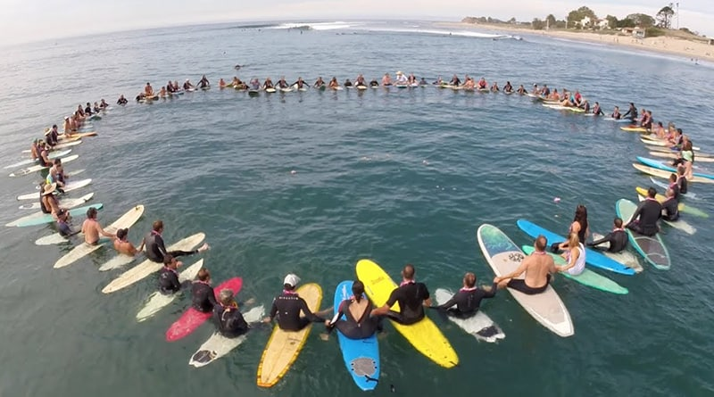paddle out tribute to kevin patrick