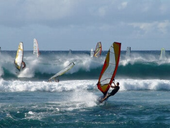 windsurfing shops and schools