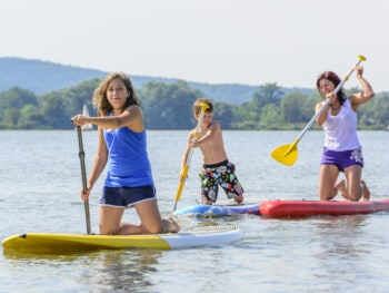 inflatable vs hard paddle boards